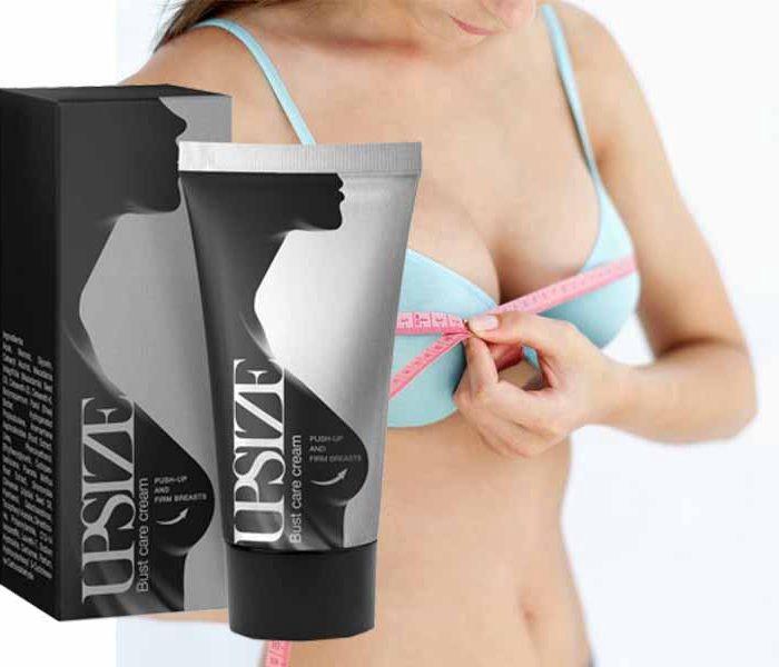 Upsize Creme – augmentation mammaire - comprimés – pas cher – comment utiliser